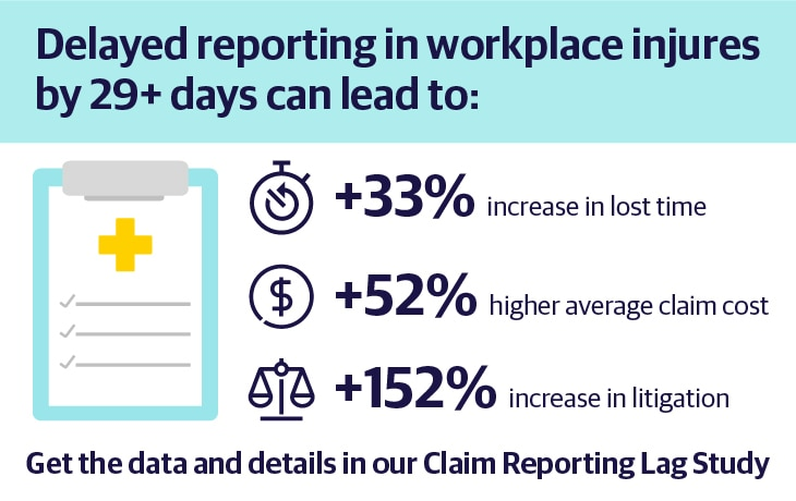 Delay claims reporting
